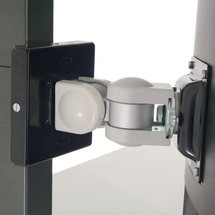 TFT-Halterung für Hüdig + Rocholz Packtisch-System