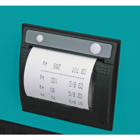 Thermal printer for Ameise® PRO/PRO+/Touch weighing scale pallet trucks