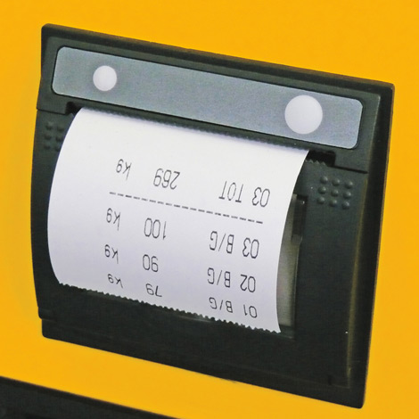 Thermodrucker für Hubwagen Jungheinrich AMW 22p