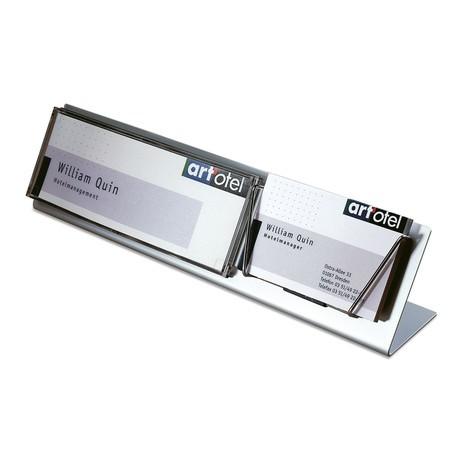 Tischaufsteller Mit Visitenkartenhalter
