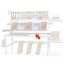 Tischbegrenzung für Packtisch 2000mm
