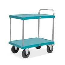 Tischwagen Ameise®, mit 2 Etagen, Kunststoffplattform