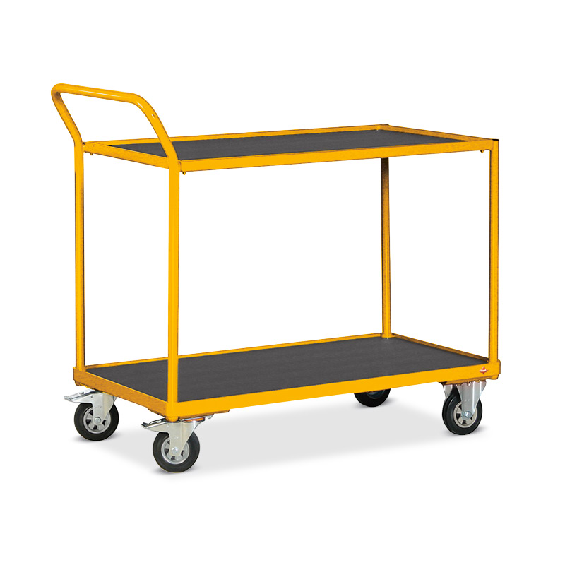 Tischwagen Ameise® mit 2 Holzböden. Tragkraft 250kg