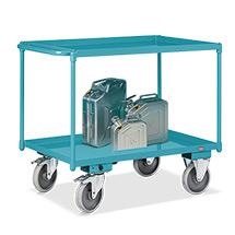 Tischwagen Ameise® mit 2 öldichten Wannen