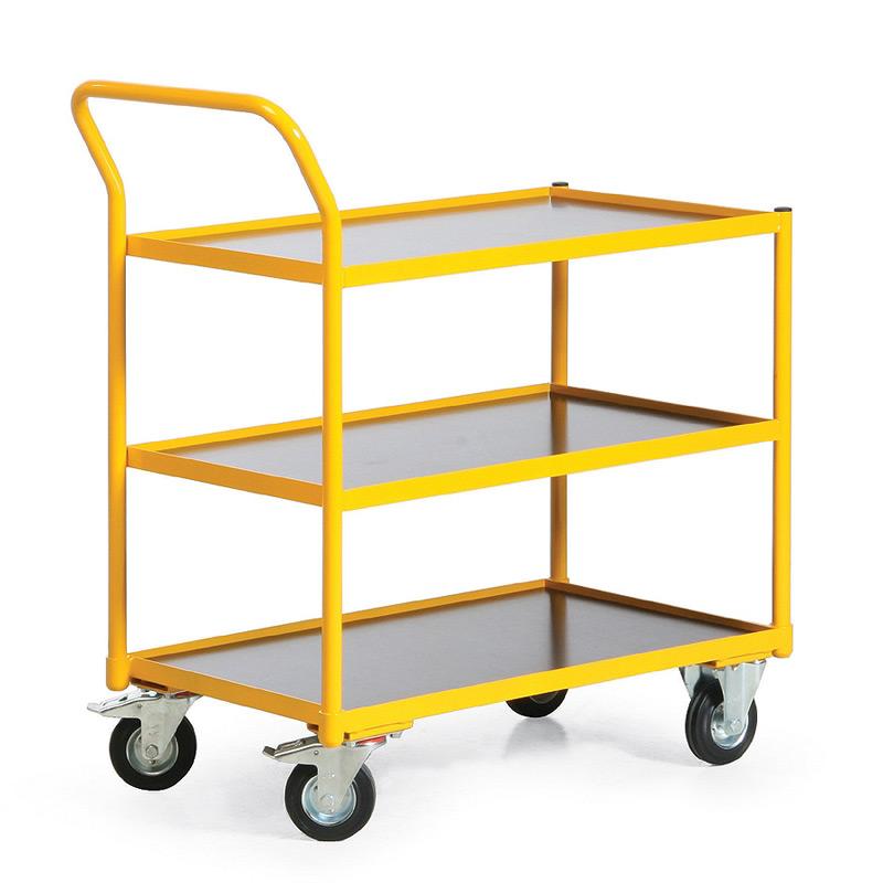 Tischwagen Ameise® mit 3 Böden. Tragkraft 250kg