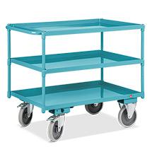 Tischwagen Ameise® mit 3 öldichten Wannen