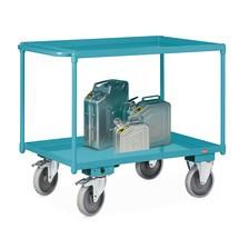 Tischwagen Ameise®, mit öldichten Wannen