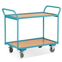Tischwagen Ameise® - mittelschwer, Tragkraft bis 250 kg. Mit 2 Ladeflächen