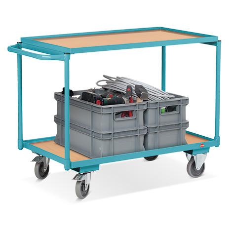 Tischwagen Ameise®. Tragkraft 250 kg. Mit 2 Ladeflächen