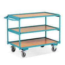 Tischwagen Ameise®. Tragkraft 250 kg. Mit 3 Ladeflächen