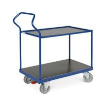 Tischwagen Ergotruck®, umlaufender Rand