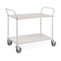 Tischwagen, komplett verzinkt, 250 kg, hochstehende Bügel