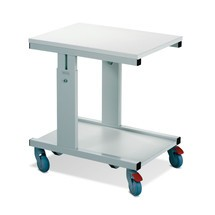 Tischwagen mit Rollen für Arbeitstisch TRESTON, Typ WB, höhenverstellbar