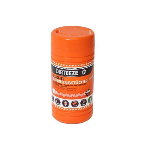 Toallitas para aceite, color, adhesivo+grasa, impregnadas