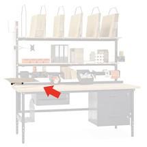 Toetsenbord en muis lade, draaien en kantelen