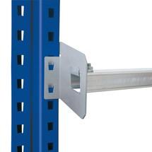 Tope de estantería para estantería para palets SCHULTE tipo S