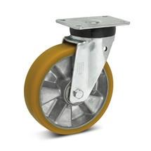 Topthane® polyurethaan zwenkwielen Premium. Capaciteit 360- 700 kg