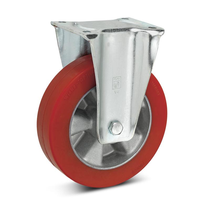 Topthane® Soft-Polyurethan-Bockrollen Premium. Tragkraft 270 - 700 kg