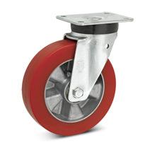 Topthane® Soft-Polyurethan-Lenkrollen Premium. Tragkraft 270 - 700 kg