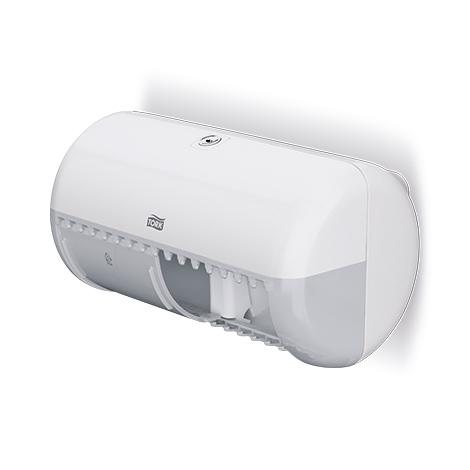 TORK® Toilettenpapier-Spender MINI, weiß