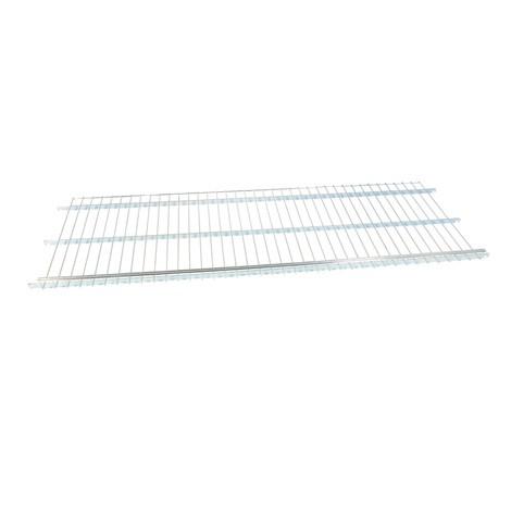 Trådram mellanliggande hyllplan för rullande behållare