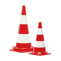 Traffic cone for internal use