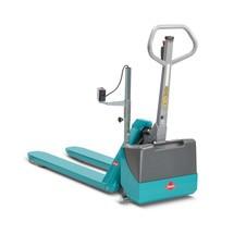 Transpaleta manual Ameise®, electrohidráulica manual, capacidad de carga hasta 1500 kg