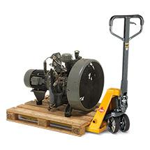Transpalette Ameise ® Power Edition. Capacité de charge jusqu'à 3000 kg