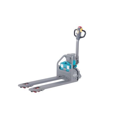 Transpalette électrique Ameise® PTE 1.3 - Lithium-ions, largeur de transport spéciale des fourches 685 mm