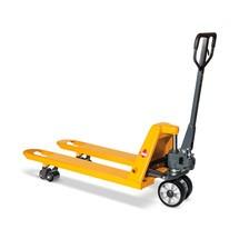 Transpalette manuel Ameise®, capacité de charge de 2500 kg, longueur des fourches 1 150 mm, RAL 1028 jaune melon