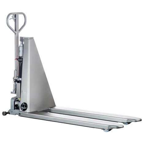 Transpallet a pantografo in acciaio INOX PRO - elettroidraulico