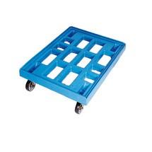 Transport roller, HDPE, laadcapaciteit 300 kg