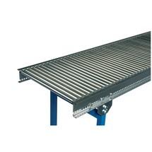 Transportador de rolos pequenos, rolos de aço tubulares
