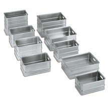 Transportbak Ameise ® van aluminium. Inhoud tot 155 liter