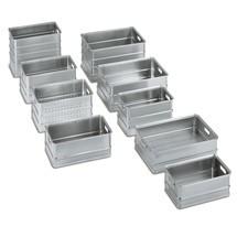 Transportlådor av aluminium