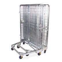 Transportní vozík sochranou proti zcizení, možnost vkládání vozíků do sebe