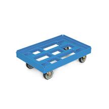 Transportroller aus PE für Eurokästen. Tragkraft 300 kg
