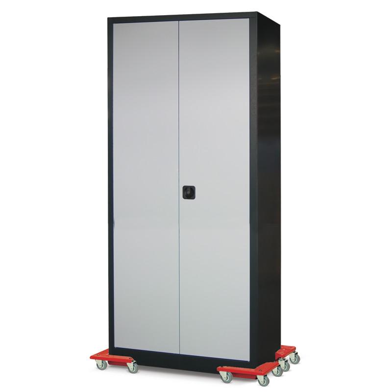 Transportroller-Ecken aus Aluminium. Tragkraft 100 kg