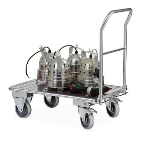 Transportwagen Ameise®, aluminium, 150 kg