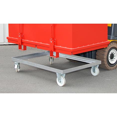 Transportwagen für Klappbodenbehälter DUO/TRIO