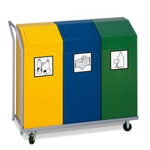 Transportwagen für Wertstoffsammler VAR®
