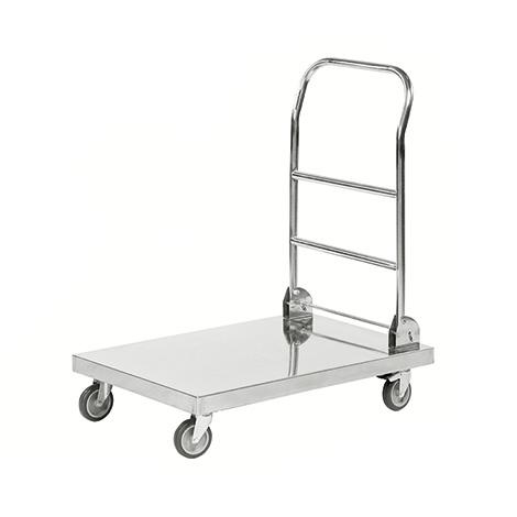 Transportwagen, komplett Edelstahl 18/0, 100 kg