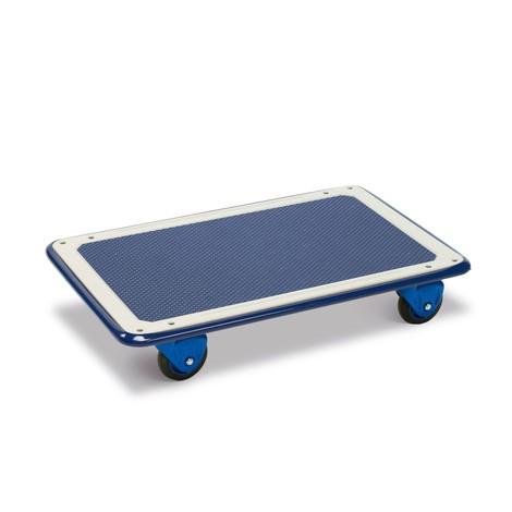 Transportwagen, verstärkte Stahlblech-Ladefläche, ohne Schiebebügel