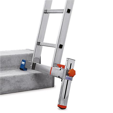 Traversen-Niveauausgleich KRAUSE ® für Vielzweck-Sprossenleiter. Aus Aluminium