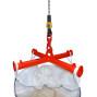 Travessia para BIG BAG, suporte de grua, capacidade de carga 2.000 kg, pintado