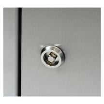 Trekantet låsning til affaldssorteringsbeholder umpf® fremstillet af rustfrit stål