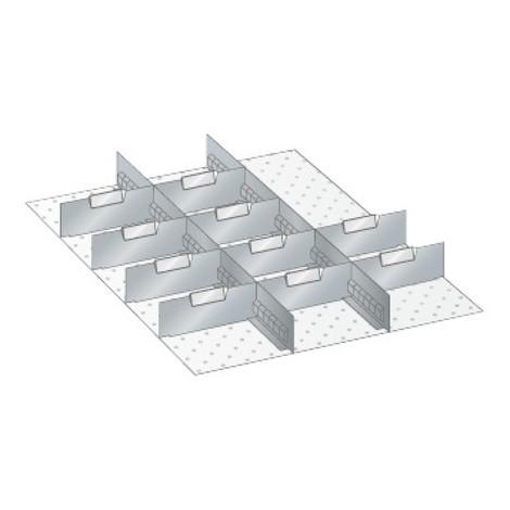 Trenn- und Steckwände für Schränke LISTA
