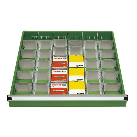 Trenn- und Steckwände für Schubladenschränke, Breite 718 mm