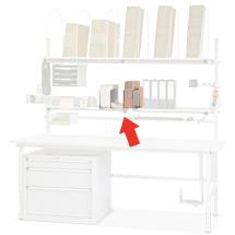Trennbleche/Kartonständer (3 Stück), verzinkt Stück), verzinkt