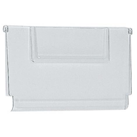 Trennwand, transparent, Breite 152mm